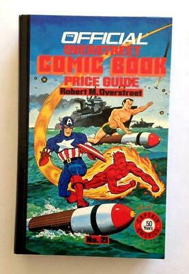 Overstreet Comic Book Price Guide 21st Edition Hardcover 1991 NM+ Capt America