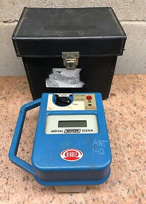 Biddle 210600 Digital Megger Tester w/ Case