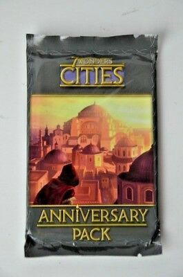 7 Wonders Board Game Cities Anniversary Pack 15 Cards Expansion Brand New Sealed