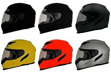 AFX FX-105 Solid Full Face Helmet - Street - Motorcycle