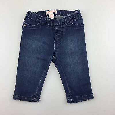 Girls,Boys size 000, Country Road, stretch denim jeans, elasticated, GUC