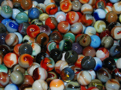 Marbles: 120 Premium Mixed Jabo Classic Marbles  Special G-21