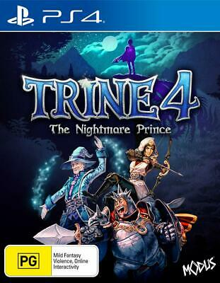 Trine 4 The Nightmare Prince PlayStation 4 PS4 GAME BRAND NEW FREE POSTAGE