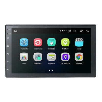 7 Inch 2 DIN Android 8.1 Car Stereo GPS Navigation Radio MP5 Player WIFI USPS