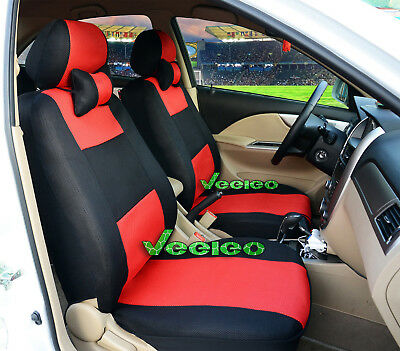 (Front +Back) 7 Colors Car Seat Covers for Mazda 5 seats +5 PCS Headrest Cover