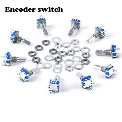 New Key Fashion Great Push Button Electronic Components Switch Rotary Encoder