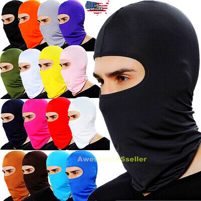 Men Women Hats Cap Ski Snow Mask Caps Hood Neck Winter Hat Balaclava Beanie Thin