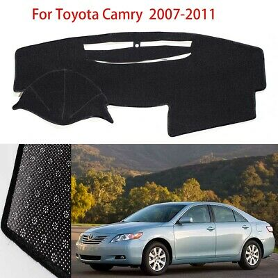 Fedar Light Grey Dash Cover Rear Deck Cover Pad Mat For Toyota Camry 2002-2006