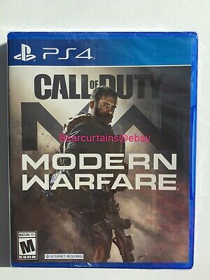 Call of Duty Modern Warfare PS4 Brand New Sealed Fast Ship with Tracking