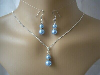 Dainty chain Backdrop Necklace for women bride bridesmaids pearl back drop 63CSW
