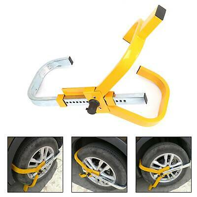 Heavy Duty  Steel Car Van Wheel Clamp Safety Lock for caravan Trailer