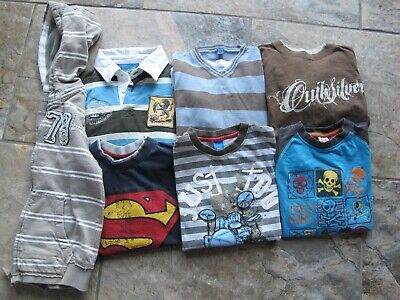 boys clothes bundle 6/7 hoodie jumper top next tu quicksilver