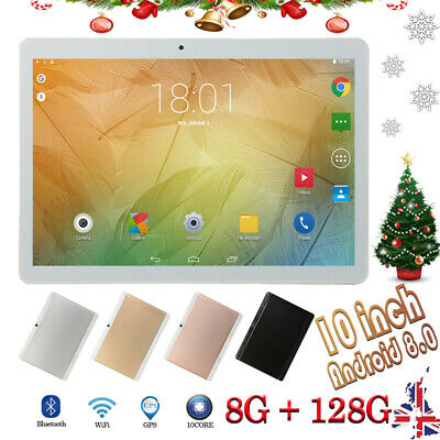 10.1'' Tableta Android 8.0 10 core 8+128GB WiFi 3G 16MP Cámara Tablet PC 2 SIM