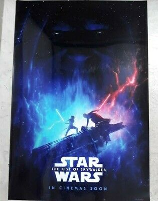 repro Star Wars: The Rise of Skywalker 2019 movie 27x40 DS LIGHT BOX POSTER