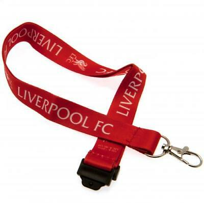 Liverpool Football Club Lanyard Official Merchandise Key Chain Crest Gift
