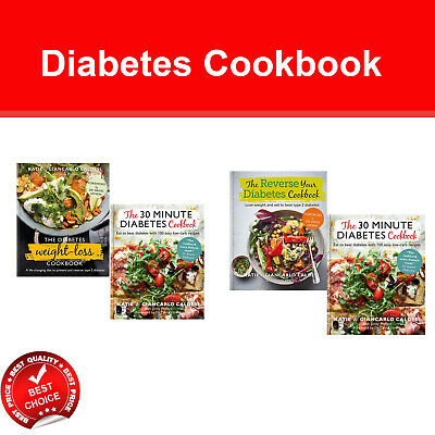 Diabetes Cookbook Books Set Weight-Loss Cookbook, Ultimate Diabetes, Low Carb