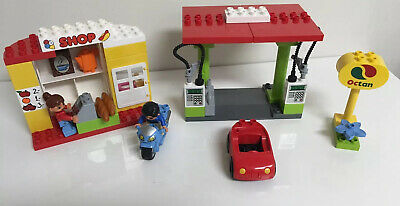LEGO Duplo My First Gas Station 6171 Convenience Store Building  44 Of 45 Pieces