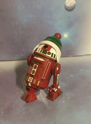 """Star Wars 2016 Disney Parks R2-H16 Holiday Christmas Droid Factory 3.75"""" Scale"""