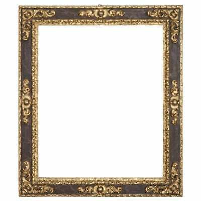 20th Century Italian Baroque Style Carved and Gilded Wood Frame