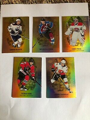 19/20 2019 UD TIM HORTONS HOCKEY Gold Etchings CARDS (DC-XX) U-Pick From List