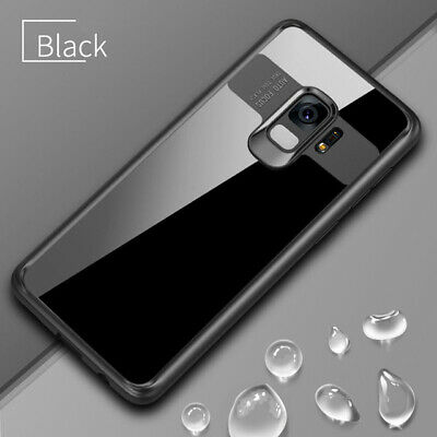 For Samsung Galaxy S8 S9 Plus Note 8 Full Protective Slim TPU Acrylic clear Case