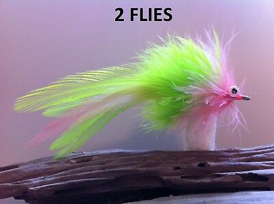 bass smallie fly SEADUCER Classic KILLER saltwater surf grizzly