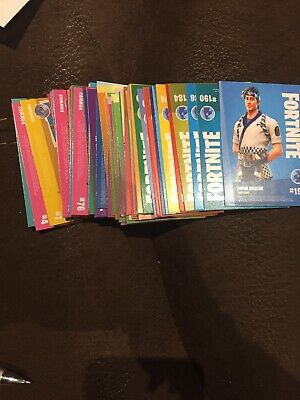 PANINI FORTNITE TRADING CARDS SERIES 1 Set Includes 67 Cards Free P&P