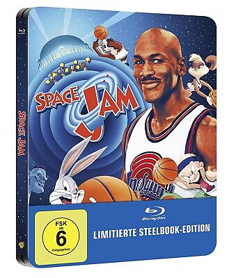 Neu OVP Space Jam Limited Steelbook Edition Blu Ray Deutsch Michael Jordan