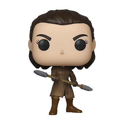 Funko Game Of Thrones POP Arya Stark With Two Headed Spear Figure NEW IN STOCK