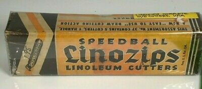 Speedball Linozips Linoleum Cutters with 5 cutters