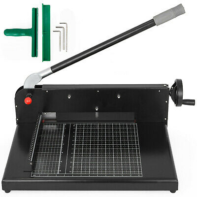 """12"""" Width Guillotine Paper Cutter Heavy Duty Stack Paper Trimmer 300 sheet"""