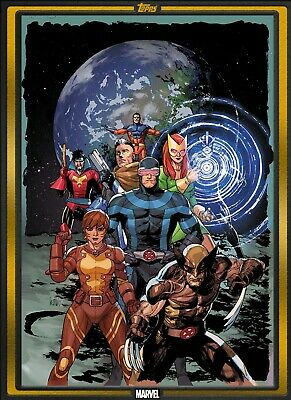Topps Marvel Collect X-Men #1 GOLD Topps Comic Book Day OCT 16 2019 DIGITAL CARD