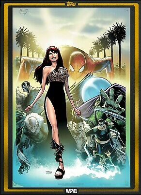 2019 COMIC BOOK DAY GOLD THE AMAZING MARY JANE #1 Topps Marvel Collect Digital