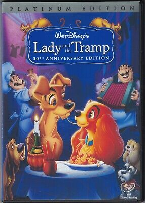 Lady and the Tramp (DVD w/ Refurbished Case, 1955) Disney