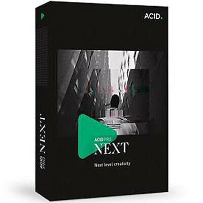 NEW Magix Acid Pro Next Digital Audio Workstation + Zynaptiq Stem Maker audio