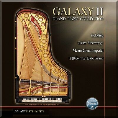 NEW Best Service Galaxy II Pianos Virtual Instrument Sample Kontakt Library