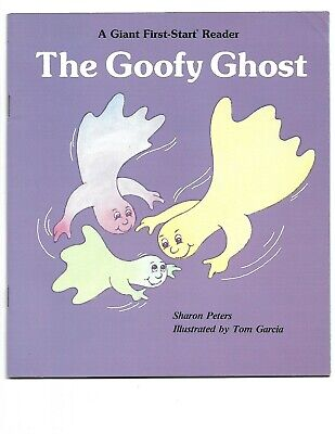 The Goofy Ghost,Sharon Peters,1981,paperback