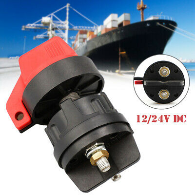 1PC 12V 300A Battery Isolator Disconnect Switch for Marine Boat Car Rv ATV Truck