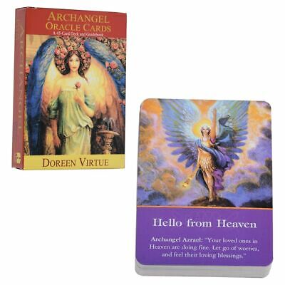 45 Cards Tarot Deck Card for Magic Archangel Oracle Cards Earth Magic Fate Party
