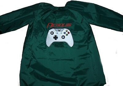 Personalised Art Smock  / Paint Shirt - Boys - Game Controller - First name FREE
