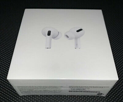 NEW APPLE AirPods PRO 2019 Airpod Active Noise Cancellation MWP22AM/A +Free Case
