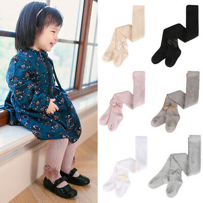 Children's Cute Bow Tights Girls Toddler Baby Soft Comfortable Pantyhose