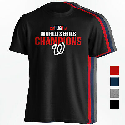 Washington Nationals 2019 World Series Champions Shirt - 4 Colors - S-5XL