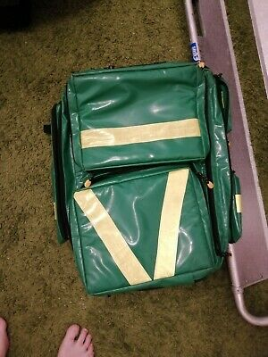 Ambulance Paramedic First Aid Responder Aed Oxygen Backpack Kit Bag Response