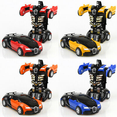 Robot Car Baby Gift Automatic Transformers Kids Toys Toddler Vehicle Cool Toy
