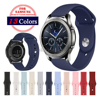 A# Soft Silicone Sport Watch Strap for Samsung Gear S3 / Sport / S2 Classic Band