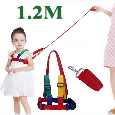 1.2m Baby Kids Safety Wing Walking Harness Toddler Anti-lost Belt Backpack Reins