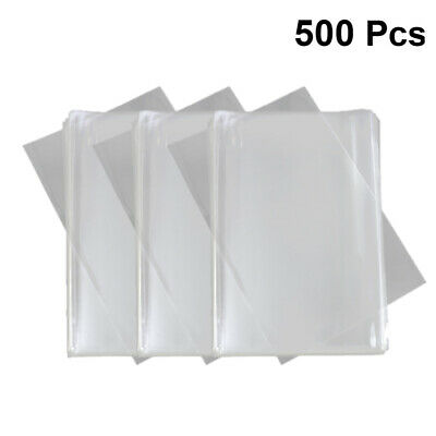 500PCS Transparent Candy Bags Bakery Bags Takeaway Bags Food Wrapping Bags