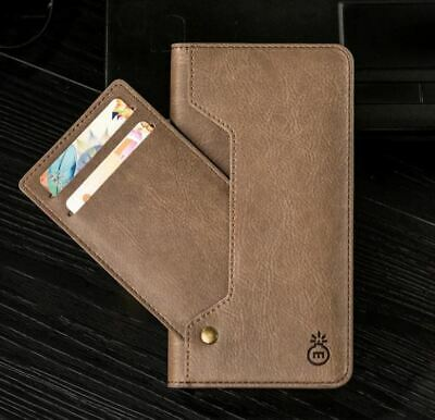 2 in 1 Genuine Musubo for iPhone11 Pro Wallet Case Quality PU Leather Flip Cover