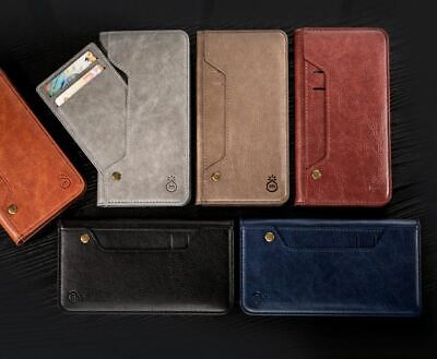 Genuine Musubo for iPhone 11 Wallet Case Handmade PU Leather Luxury Flip Cover